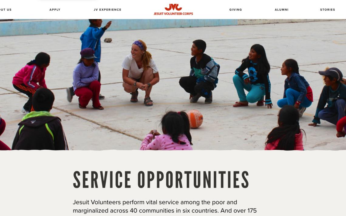 Jesuit Volunteer Corp