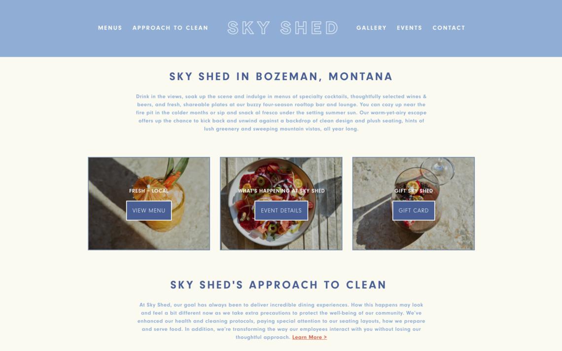 Sky Shed