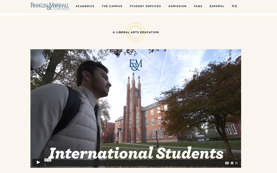 Franklin and Marshall College International